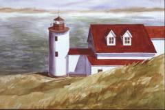 Maine Lighthouse 15x21