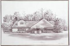 Rendered Pencil House