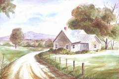 Country Road 14x19