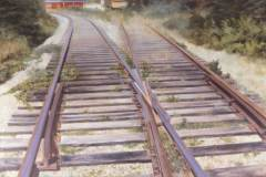 A View of the Tracks 32x40